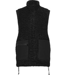 cave vest vests knitted vests zwart just female