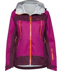 runde 3-layer technical shell jacket outerwear sport jackets lila skogstad