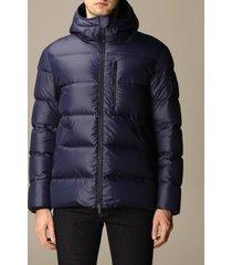hogan jacket hooded down opaque nylon jacket