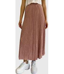 falda missguided rosa - calce regular