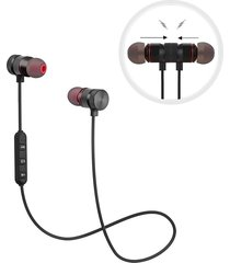 audífonos bluetooth deportivos, gz05 auriculares inalámbricos soundbuds estéreo magnéticos con slim ligero, cancelación de ruido, mic incorporado para el entrenamiento