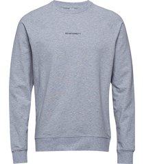 geoff print 3383 sweat-shirt trui grijs nn07