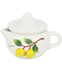 espremedor de cerâmica kebir 15x11x10cm - linha lemons