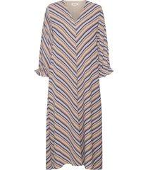 clementine print ls dress dresses everyday dresses multi/mönstrad modström