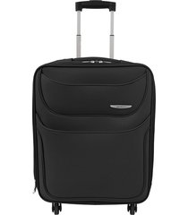 "maleta de viaje mediana runner 24"" negro - explora"