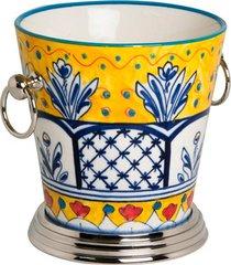 balde de gelo de cerâmica tropic