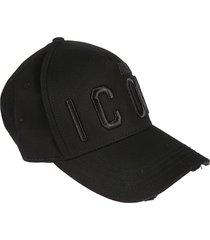 embroidered cargo baseball cap