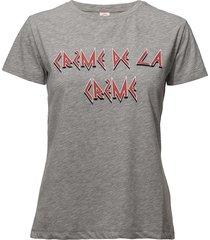 panita creme t-shirts & tops short-sleeved grå custommade