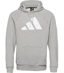 m fi hood hoodie trui grijs adidas performance