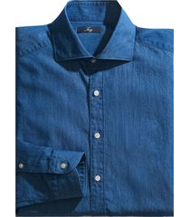 fay blue denim shirt