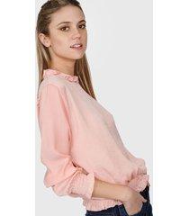 blusa rosa nano gala 0520