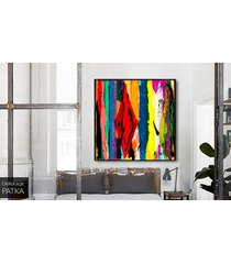abstrakcja - dekoracja ścienna