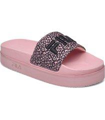 morro bay zeppa f wmn slippers tofflor rosa fila