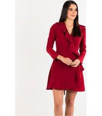 vestidos vinotinto derek 820855