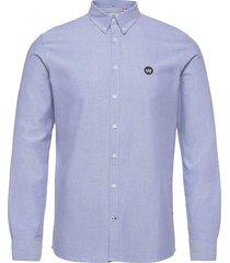 johan oxford shirt skjorta casual blå kronstadt