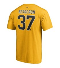 authentic nhl apparel boston bruins men's special edition name and number player t-shirt - patrice bergeron