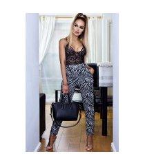 brina broek met zakken ivoorwit