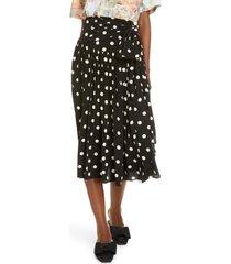 women's marc jacobs the '80s polka dot skirt