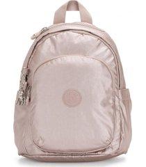 mochila delia mini rosa kipling