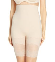 women's natori plush high waist shaping shorts