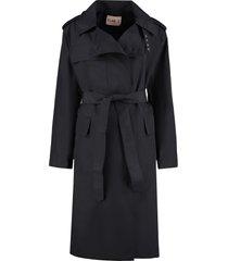 plan c nylon trench coat
