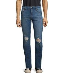 paxtyn distressed stretch skinny jeans