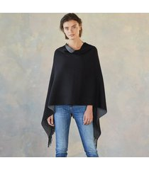 dawn & dusk reversible poncho