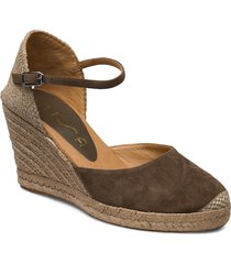 castilla_20_ks sandalette med klack espadrilles brun unisa