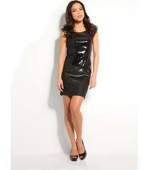 ottilia dress - guess - jurken - zwart