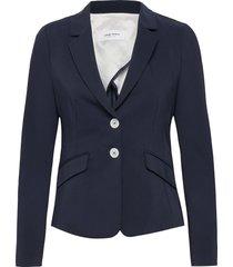 blazer long-sleeve blazer colbert blauw gerry weber