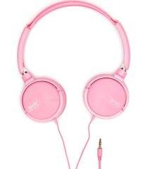 audifonos rosados color rosado, talla uni