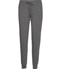 night trousers tea aop pyjamasbyxor mjukisbyxor grå lindex