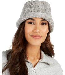 august hats chenille rollup cloche