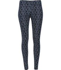 leggings estampado bosse color negro, talla s