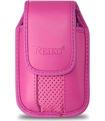 reiko vertical pouch vp11a blackberry 8330 hot pink 4.3x2.4x0.6 inches