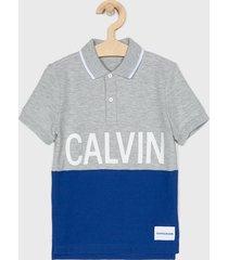 calvin klein jeans - polo dziecięce 104 - 176 cm.