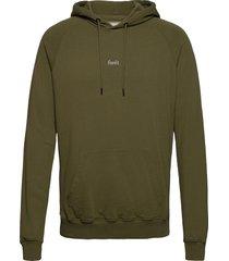 bison hoodie hoodie trui groen forét
