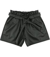 shorts look jeans clochard infantil feminina