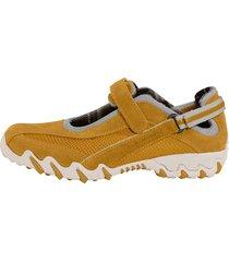 skor allrounder gul
