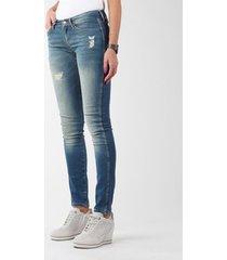 skinny jeans wrangler sandy blues w23s4072g