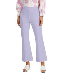 alfani modern lounge seamed high-rise pull-on pants, created for macy's