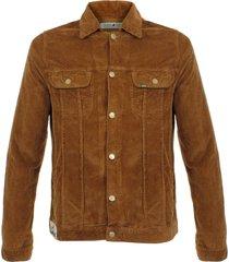 lois jeans jumbo cord brown corduroy jacket 1001394br