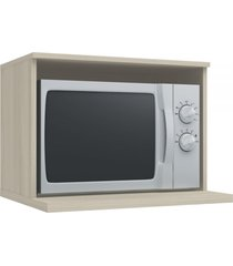 armário aéreo cozinha 60 cm versatti para microondas nacre - kappesberg