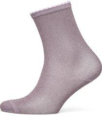 hosiery footies träningssockor/ankle socks lila noa noa