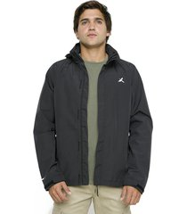 chaqueta impermeable pumalin negro andesgear