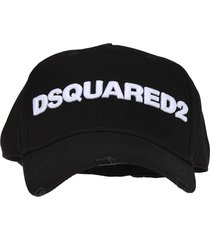 dsquared2 d squared embroidered cargo baseball cap