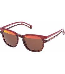 gafas de sol police 1961-nk5h color rojo