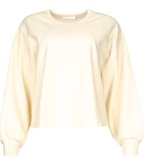 bewerkte sweater cato  naturel