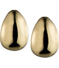 """anne klein 3/4"""" hoop e-z comfort clip-on earrings"""