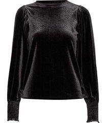orieliw blouse blouse lange mouwen zwart inwear